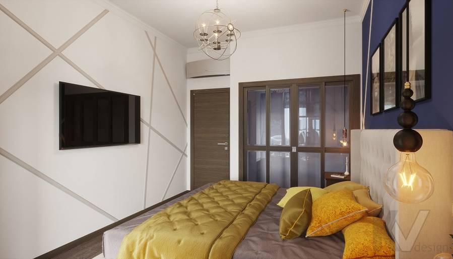 Дизайн спальни в ЖК «На Циолковского» - 1