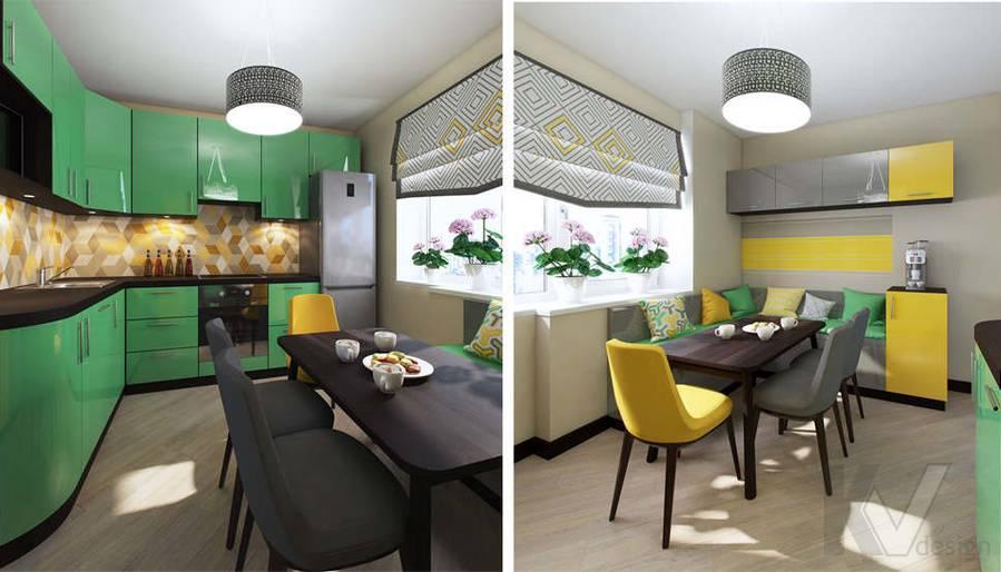 дизайн кухни в квартире П-3М, Владыкино - 4