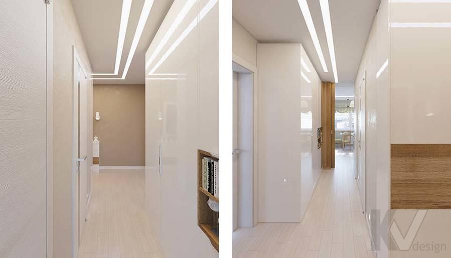 Дизайн прихожей в 2-комнатной квартире П-44Т, Московский - 1