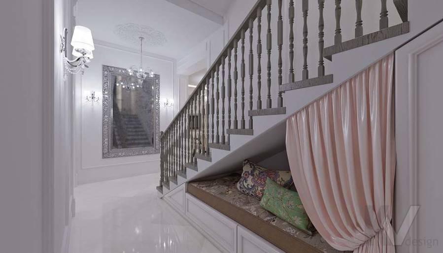 Дизайн прихожей в доме в КП «Парк Авеню» - 6