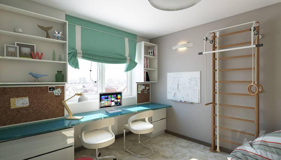 дизайн детской в 3-комнатной квартире П-44Т, Речной вокзал - 2