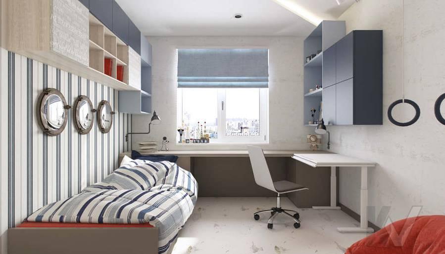 Дизайн детской в 3-комнатной квартире П-3М, Новое Ясенево - 2