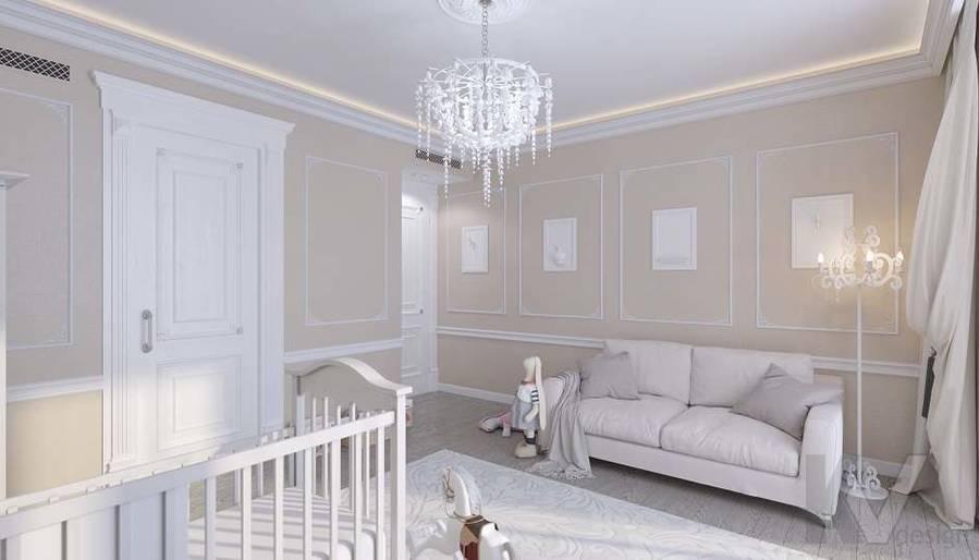 Дизайн комнаты малыша в доме, КП «Парк Авеню» - 3