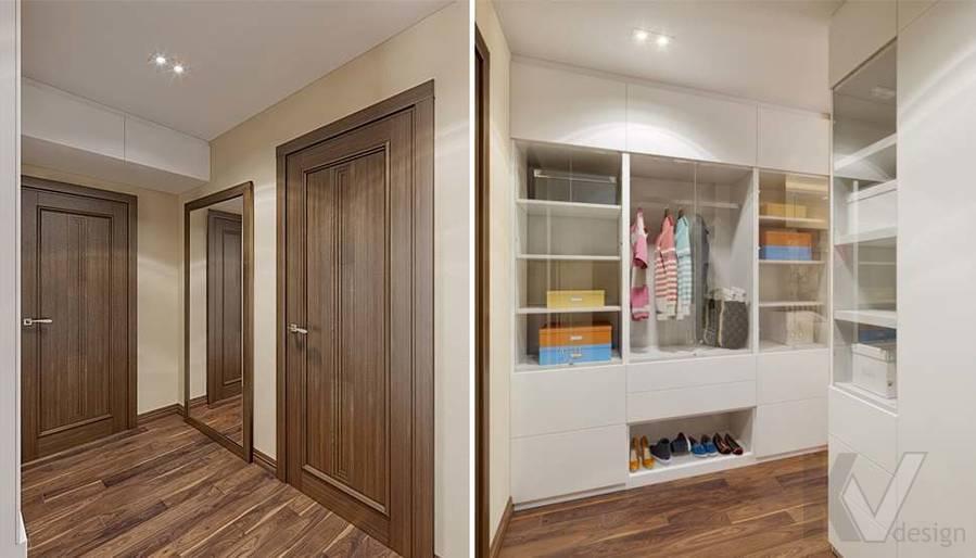 дизайн комнаты девушки в четырехкомнатной квартире П-3М - 3