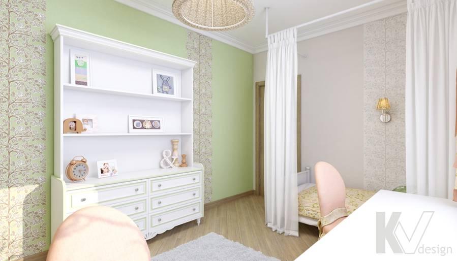 Детская в 4-комнатной квартире, м. Киевская - 3