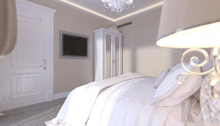 Дизайн гостевой комнаты в доме, КП «Парк Авеню» - 3