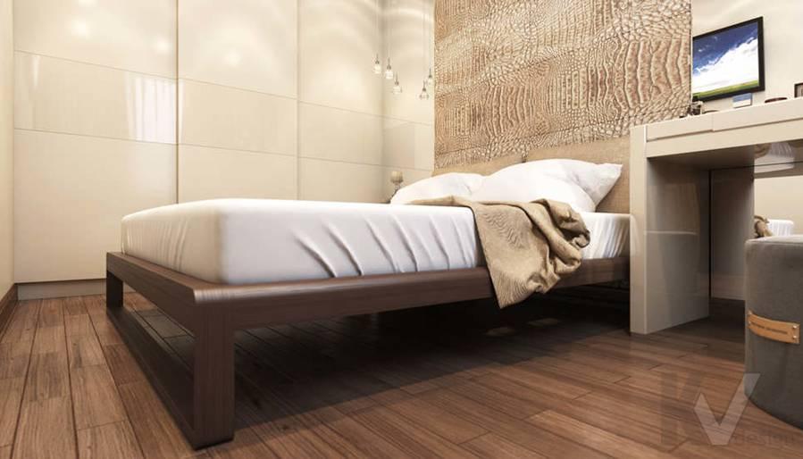 Дизайн спальни в 2-комнатной квартире, Реутов - 4