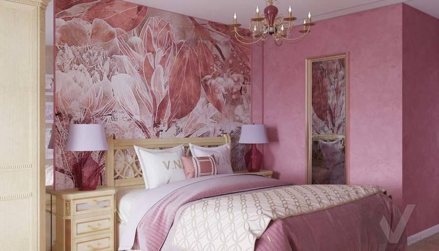 Дизайн спальни в ЖК Летний Сад - 1