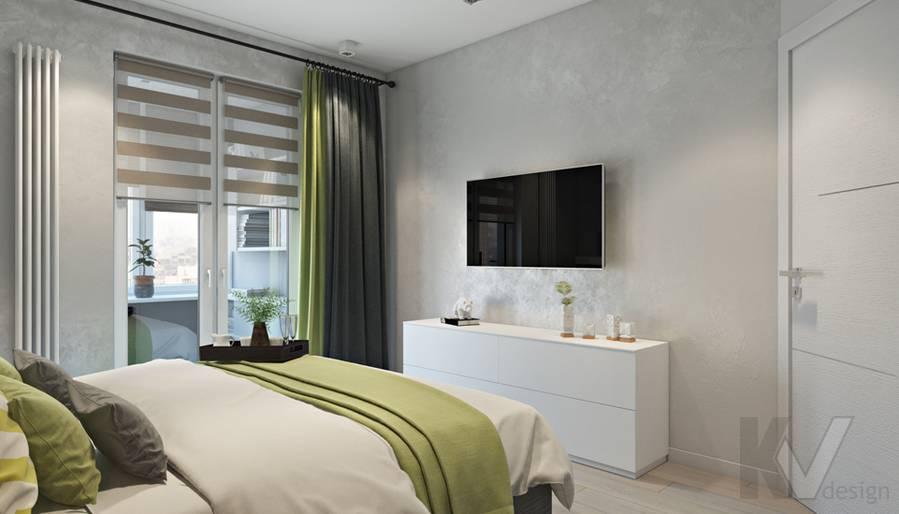 Спальня в 3-комнатной квартире И-155, Красногорск - 2