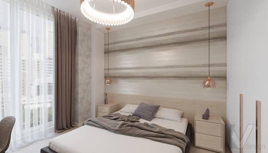 Спальня в 3-комн. квартире в Раменках - 1