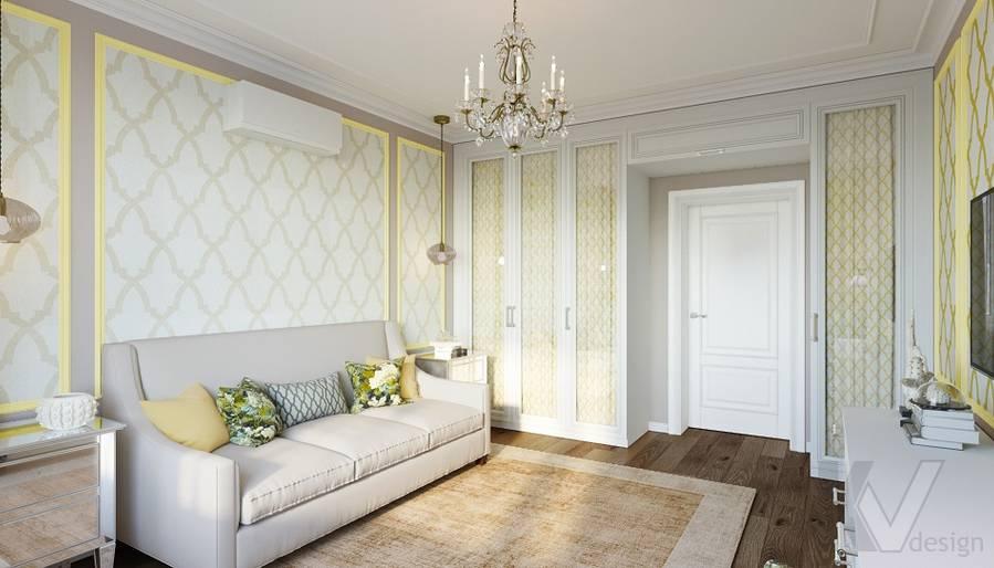 Дизайн гостевой комнаты в квартире на м. Смоленская - 4