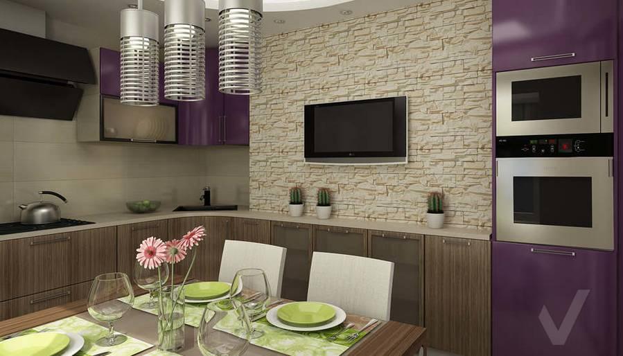 Дизайн двухкомнатной квартиры, Развилка, кухня - 2