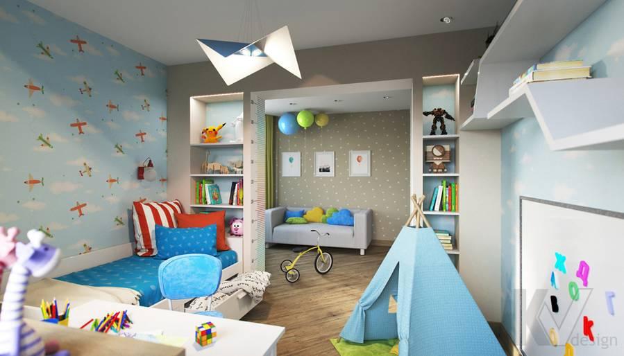 Дизайн детской в 2-комнатной квартире, Некрасовка Парк - 5