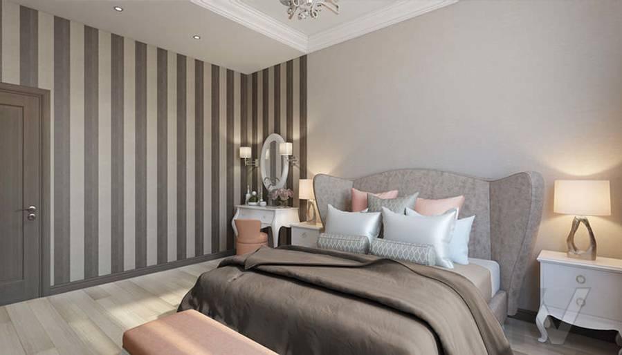 """Дизайн спальни в 2-комнатной квартире, ЖК """"Авеню 77"""" - 3"""