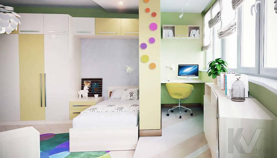 дизайн детской в 3-комнатной квартире, Митино - 3