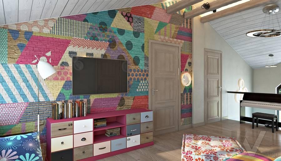 Дизайн игровой комнаты в трехэтажном доме - 4