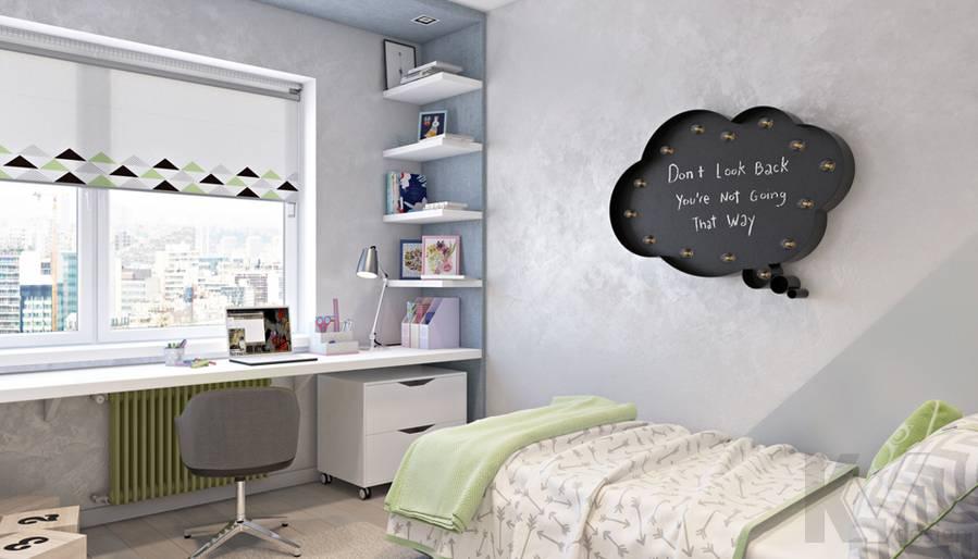 Вторая детская в 3-комнатной квартире И-155, Красногорск - 1
