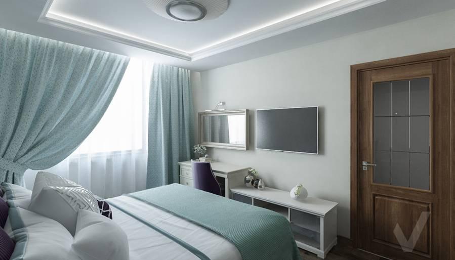 Спальня комната в 4-комнатной квартире, Реутов - 3