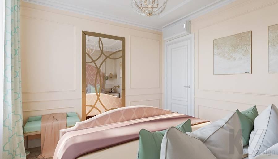 Дизайн спальни в квартире на м. Смоленская - 5