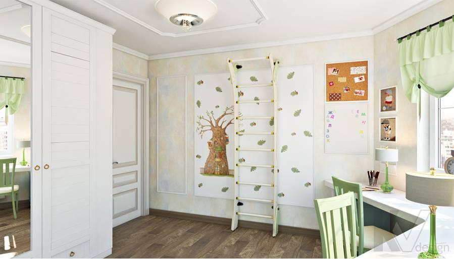Детская в 3-комнатной квартире П-44Т, Люблино - 4