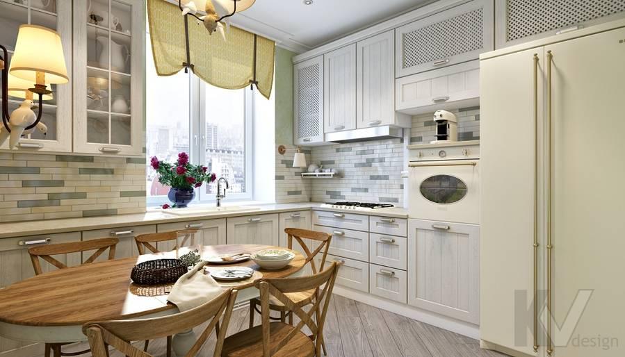 дизайн кухни в 3-комнатной сталинке, ВДНХ - 1