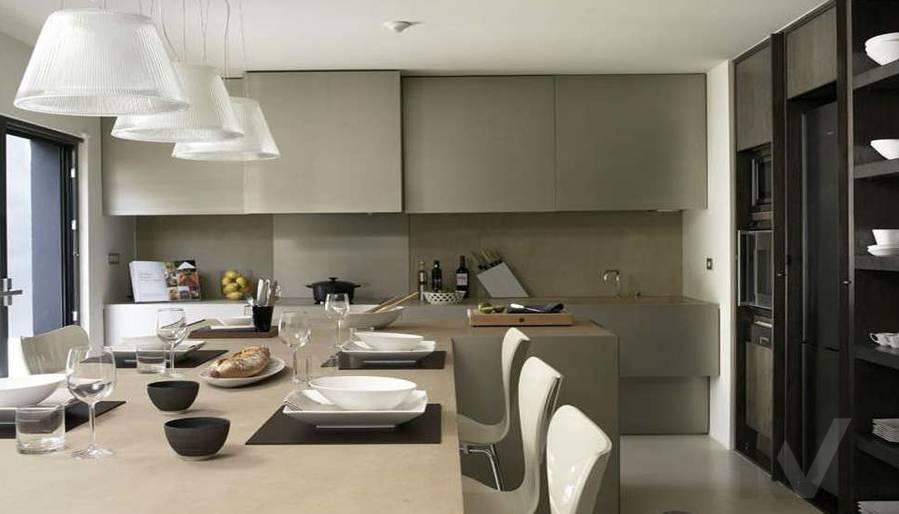 Дизайн таунхауса в Сочи, кухня-2