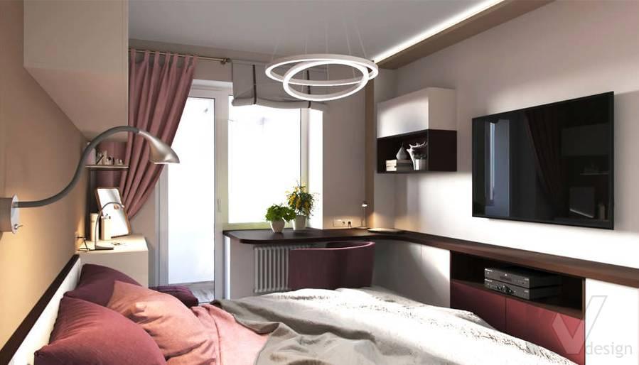 дизайн спальни в 3-комнатной квартире, Войковская - 4