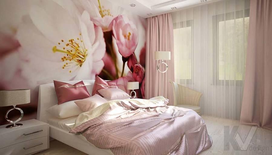 Таунхаус в п. Павлово, дизайн спальни - 1