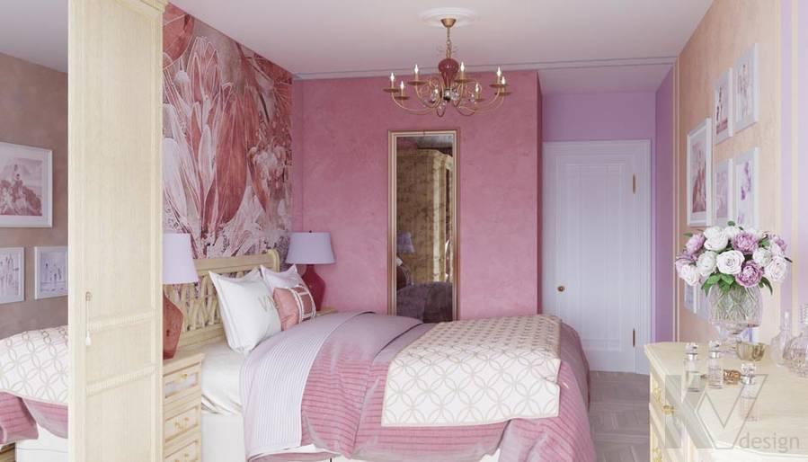 Дизайн спальни в ЖК Летний Сад - 3