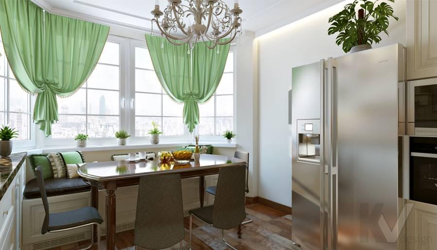 Кухня в 3-комнатной квартире П-44Т, Люблино - 2