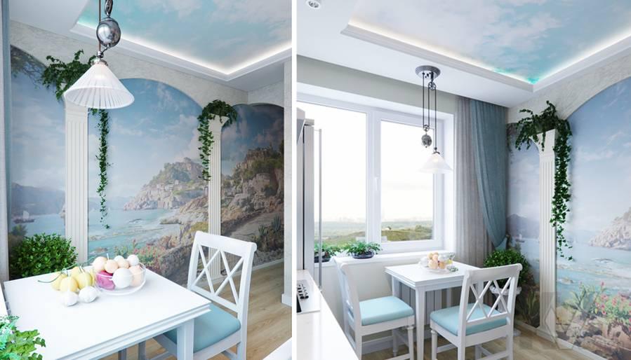 Дизайн кухни в квартире в Крылатском - 3