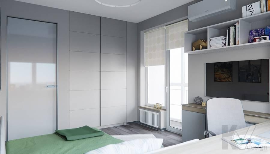 Детская комната в проекте объединения квартир, Мытищи - 2