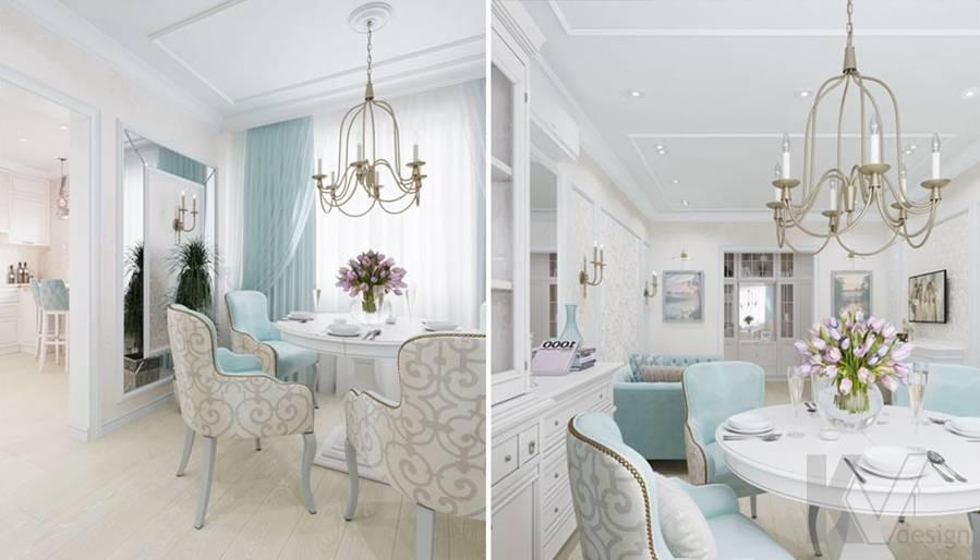 Дизайн гостиной в квартире серии П-3, м. Братиславская - 4