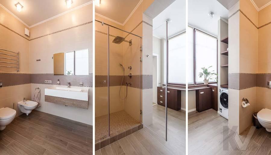 Фото хозяйской ванной комнаты в таунхаусе Павлово - 1