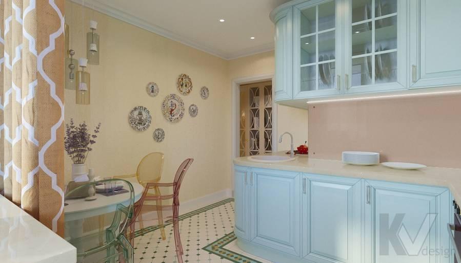 Дизайн кухни в квартире на м. Смоленская - 6