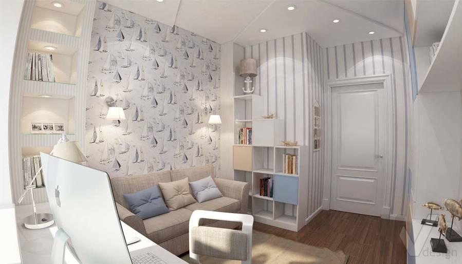 дизайн комнаты мальчика в ЖК Лосиный Остров - 2