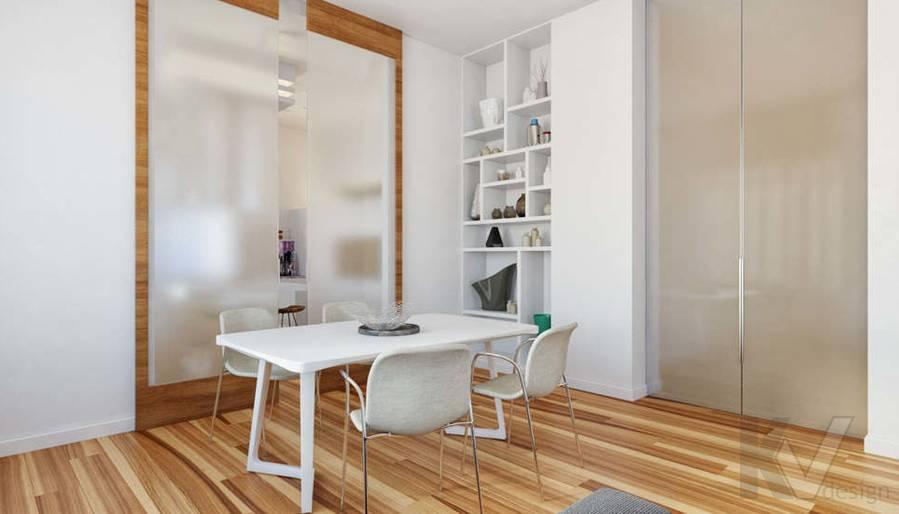 Дизайн гостиной в доме, КП Пестово - 7