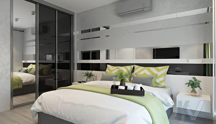 Спальня в 3-комнатной квартире И-155, Красногорск - 4