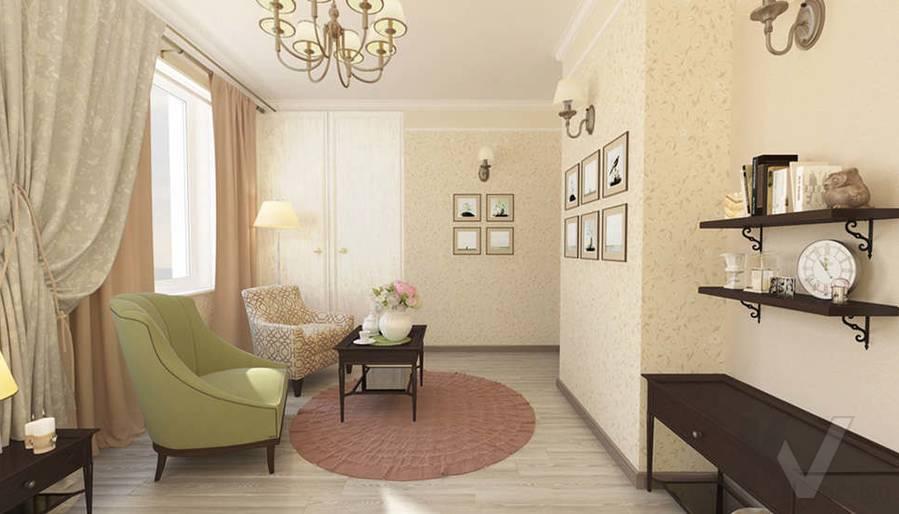 дизайн комнаты бабушки в 3-комнатной квартире, Троицк - 3