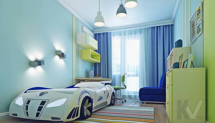 Дизайн детской в квартире П-3М на Профсоюзной - 1
