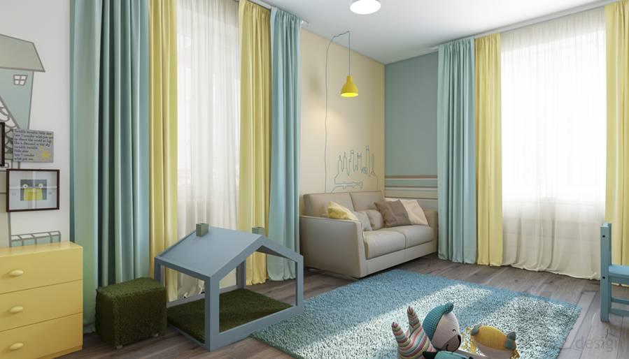 дизайн детской в квартире на проспекте Вернадского - 4