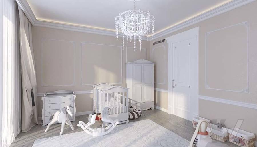 Дизайн комнаты малыша в доме, КП «Парк Авеню» - 2