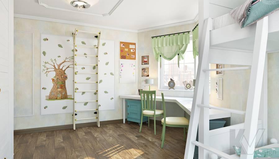 Детская в 3-комнатной квартире П-44Т, Люблино - 3
