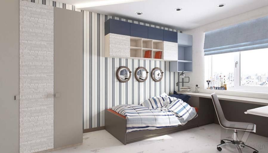 Дизайн детской в 3-комнатной квартире П-3М, Новое Ясенево - 3
