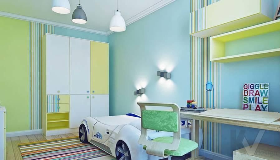 Дизайн детской в квартире П-3М на Профсоюзной - 3