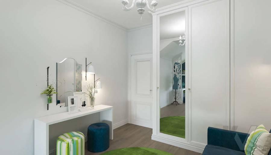 Дизайн спальни в коттедже, КП «Vita Verde» - 2