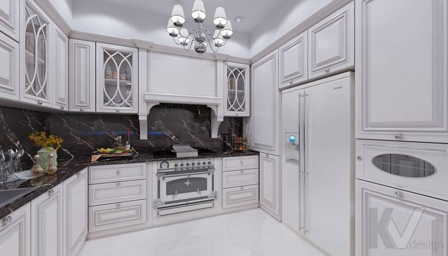 Дизайн кухни в доме, КП «Парк Авеню» - 1