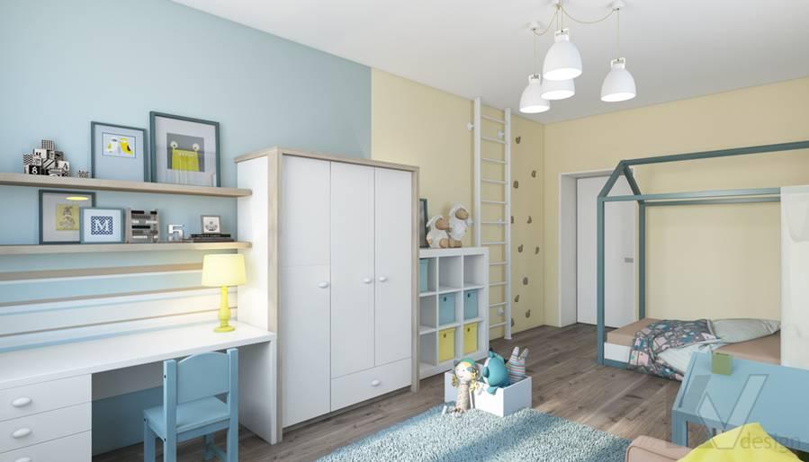 дизайн детской в квартире на проспекте Вернадского - 2
