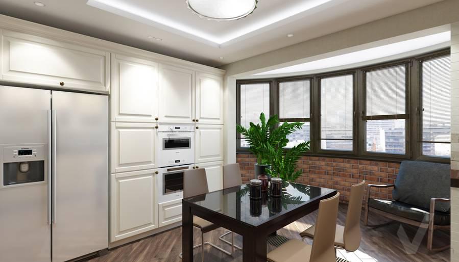 Кухня в 4-комнатной квартире, Реутов - 1