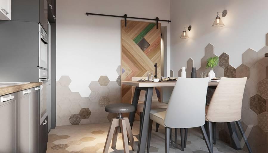 Дизайн кухни в ЖК «На Циолковского» - 4